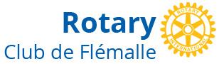 Logo du Rotary club de Flémalle